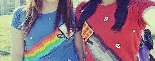 Nyan Cat &Tac Nayn shirt~