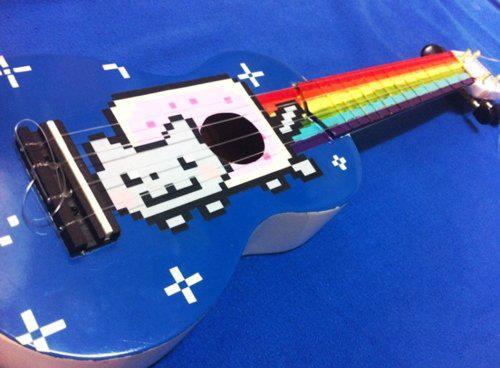 Nyan Cat ukelele