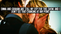 OUAT Confession: Emma & Graham