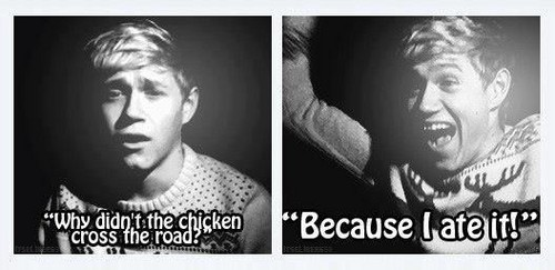 Oh Niall how we love you(;