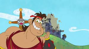 Old disney Channel: Dave the Barbarian