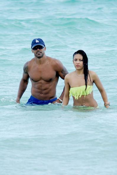 On The pantai In Miami