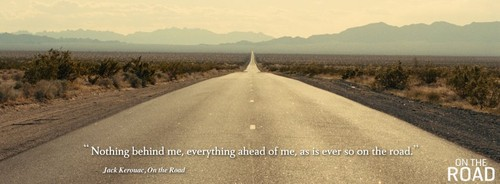On the Road (Movie) wallpaper with a carriageway called On The Road Quotes