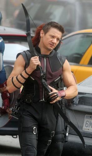 On set: The Avengers