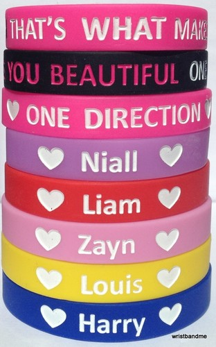 One Direction wristbands - one-direction Photo