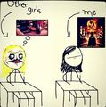 Other girls... AND ME!!!