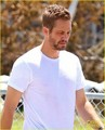 Paul Walker: Bruised Eyes on 'Hours' Set - paul-walker photo