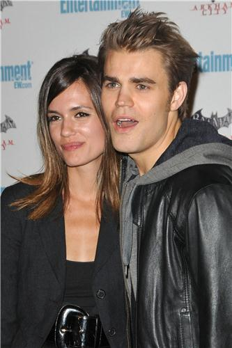 Paul and Torrey at Comic Con - Entertainment Weekly Syfy Celebration (July 23th, 2011)