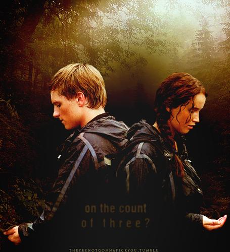 Peeta&Katniss