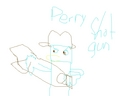 Perry Shotgun - perry-the-platypus photo