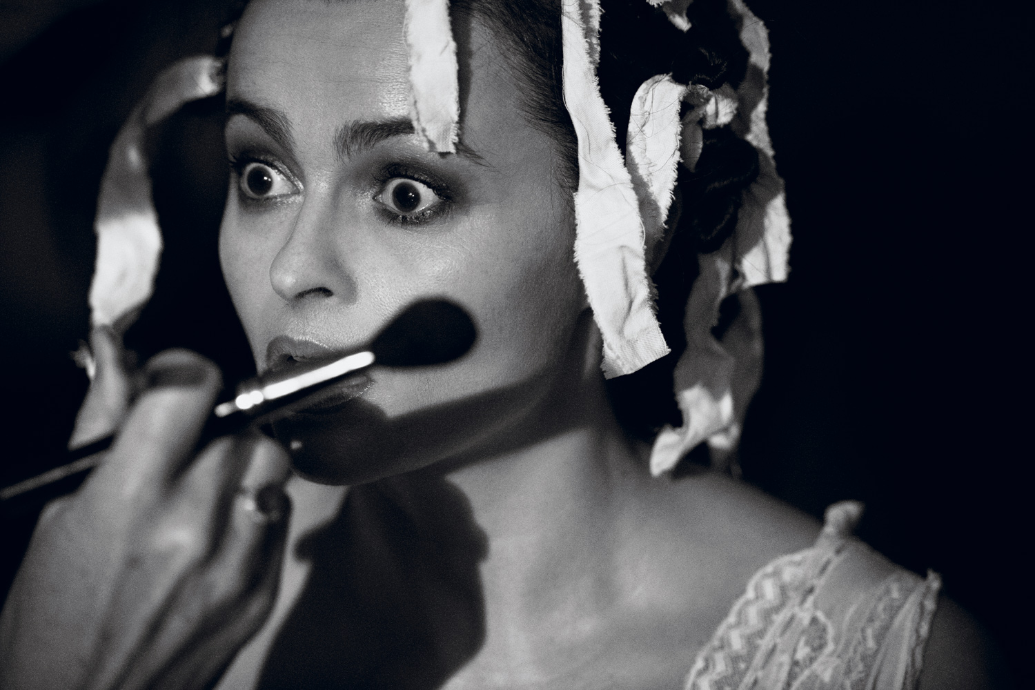 Peter Lindbergh Photos... Helena Bonham Carter Interview