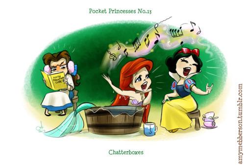 Disney princess pocket princesses