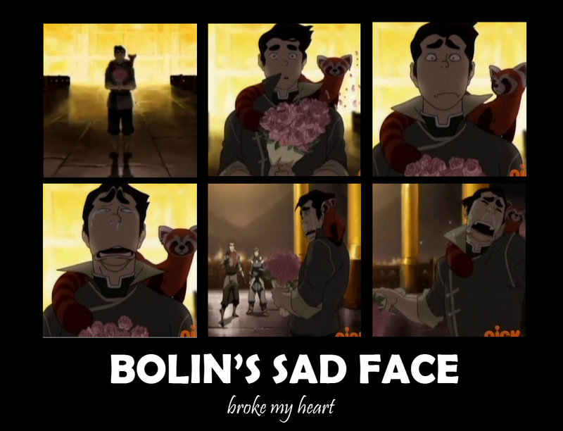 Avatar: The Legend of Korra Poor Bolin :(
