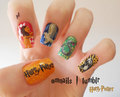Potterhead Nails