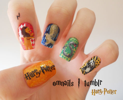 Harry Potter wallpaper titled Potterhead Nails