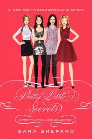 Pretty Little Liars wallpaper possibly containing a sign called Pretty Little Secrets book cover