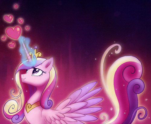 My Little poni, pony - La Magia de la Amistad fondo de pantalla called Princess Cadence