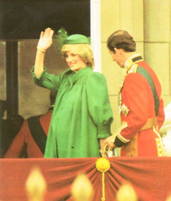 Princess Diana pregnant with Prince William