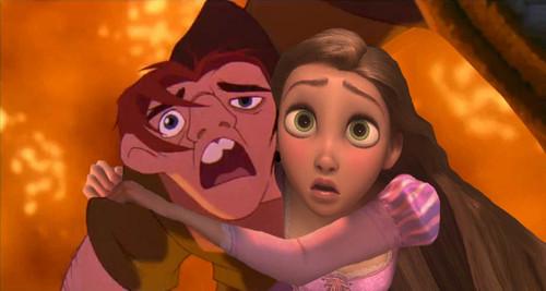 Quasimodo Saving Rapunzel