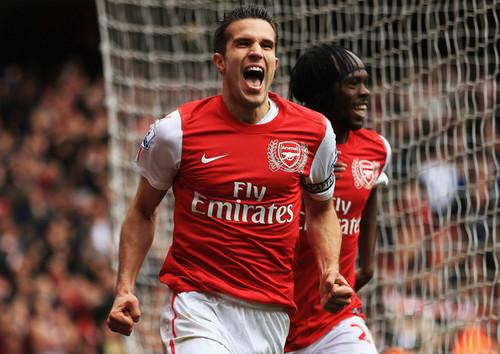 R. バン Persie (Arsenal - Norwich)