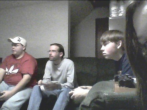 RANDOM MEN PLAYING VIDEO GAMES IN MY HOUSE