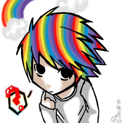 Rainbow L - death-note Photo