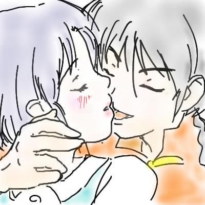 Ranma and Akane _ Sketches _ Mao