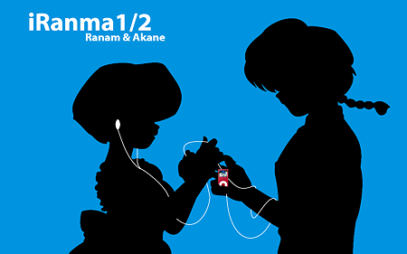 Ranma 1/2 wallpaper titled Ranma and Akane _ Sketches _ Mao