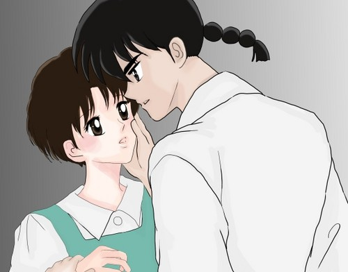 Ranma and Akane _ a passionate pair