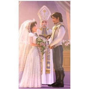 Rapunzel & Eugene wedding