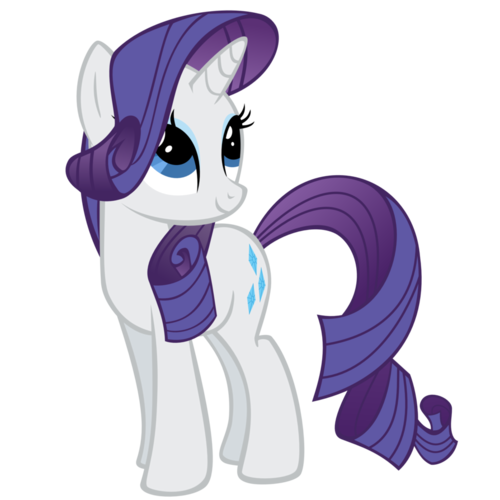 My Little Pony Rarity Coloring Pages #8