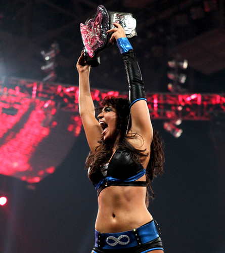 WWE LAYLA پیپر وال titled Raw Digitals 5/7/12