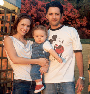 Rebecca Herbst and family