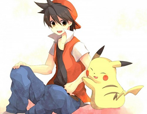 Red and Pika