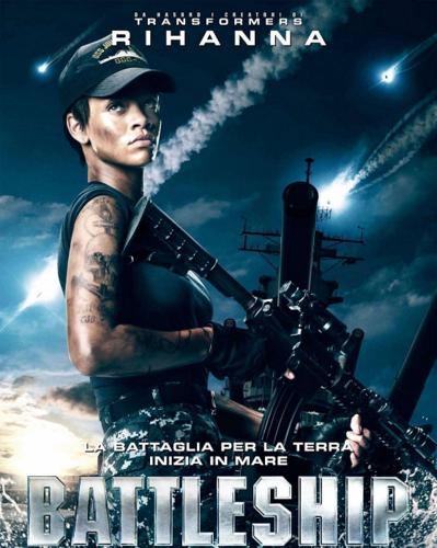 "Рианна - ""Battleship"" Movie Posters"