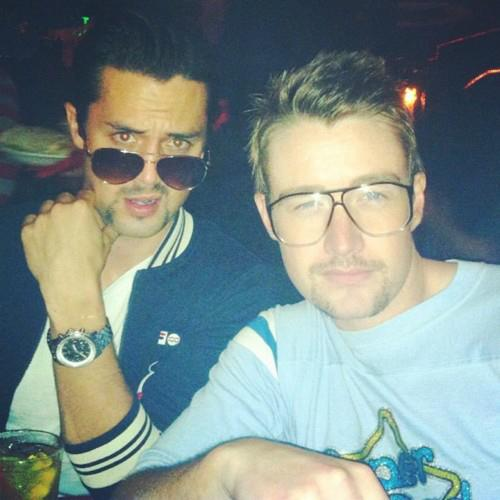 Robert Buckley & Stephen Colletti <333
