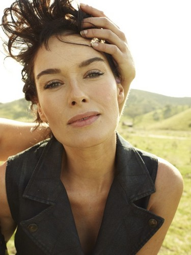 Game of Thrones wallpaper possibly with a portrait called Lena Headey- Rolling Stone Magazine Outtakes