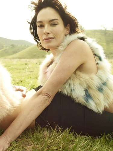 Game of Thrones پیپر وال called Lena Headey- Rolling Stone Magazine Outtakes