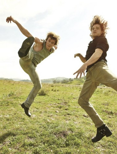 Kit Harington & Alfie Allen- Rolling Stone Magazine Outtakes