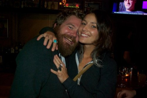 Ryan Dunn and Angie