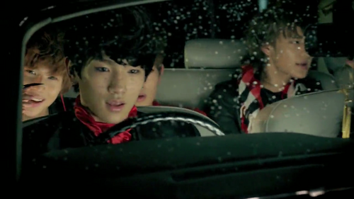 Jenjen_bunny wallpaper probably with an automobile titled SHINee! <3