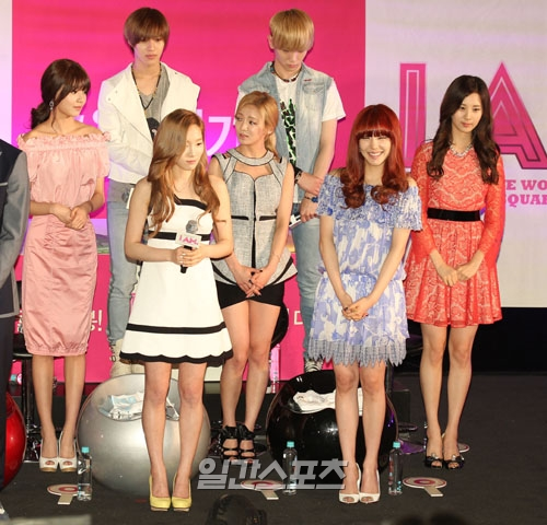 SNSD @ I AM Movie Showcase