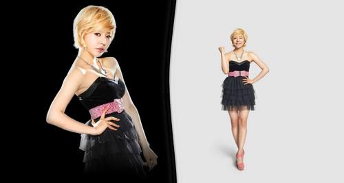 SNSD @ Yakult Korea LOOK