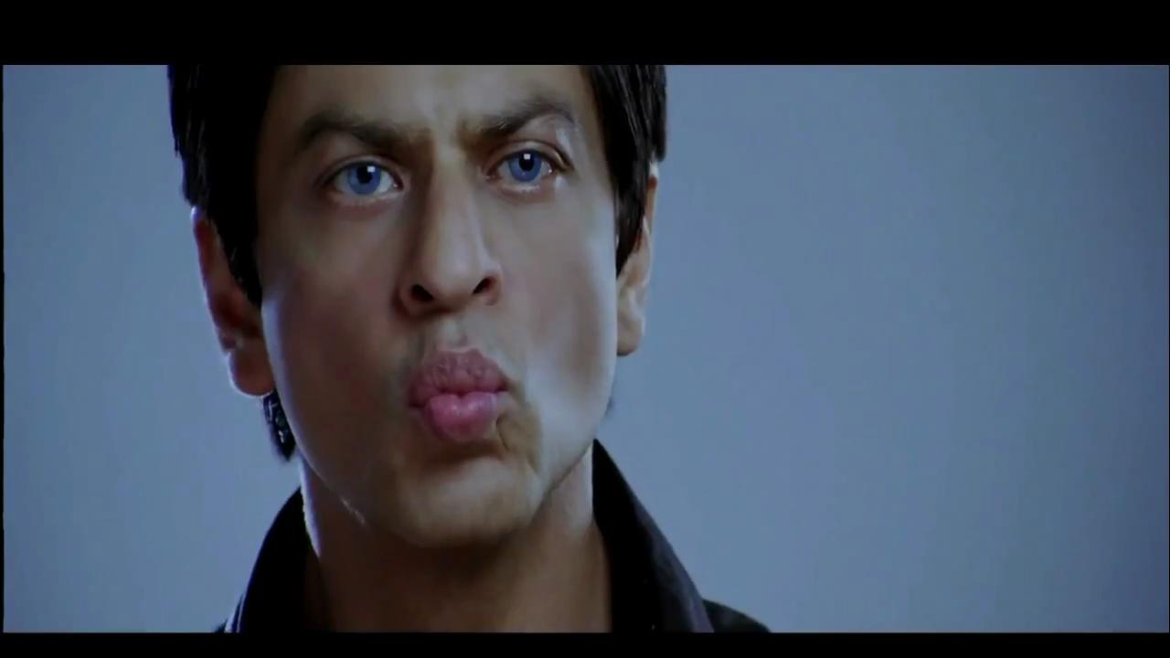 Shahrukh Khan SRK is going to kiss