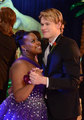 Sam and Mercedes at prom