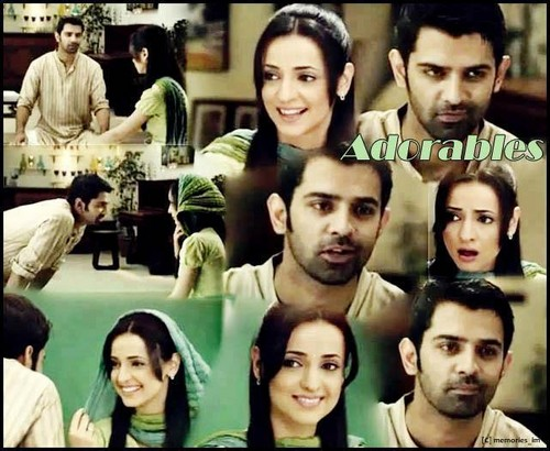 Sanaya and barun in ad