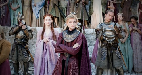 Sansa Stark & Joffrey Baratheon