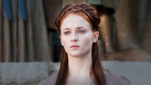 Sansa Stark wallpaper containing a portrait entitled Sansa Stark