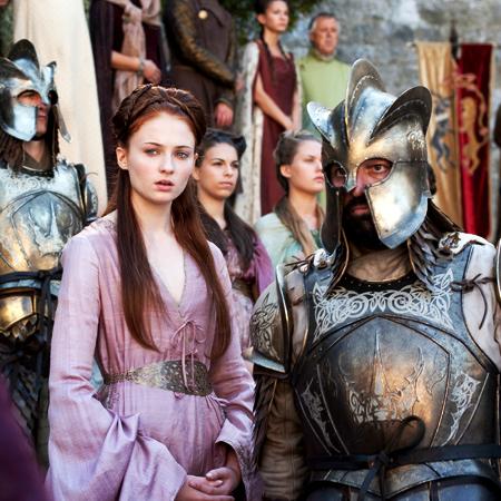 Sansa Stark Hintergrund with a breastplate called Sansa Stark