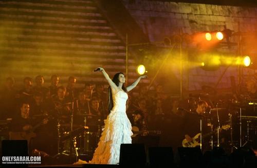 Сара Брайтман Обои with a концерт entitled Sarah Brightman